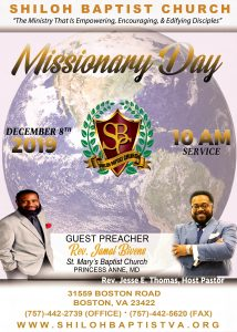 Missionary Day 2019
