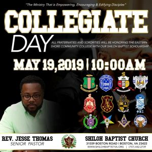 Collegiate Day 2019