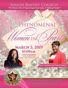 Phenomenal Women in Pearls 2019